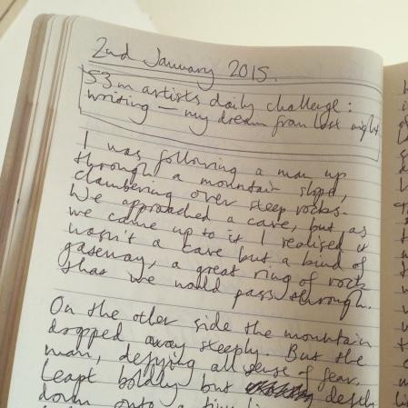 Writing - my dream