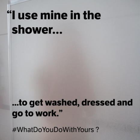 #WhatDoYouDoWithYours social media campaign