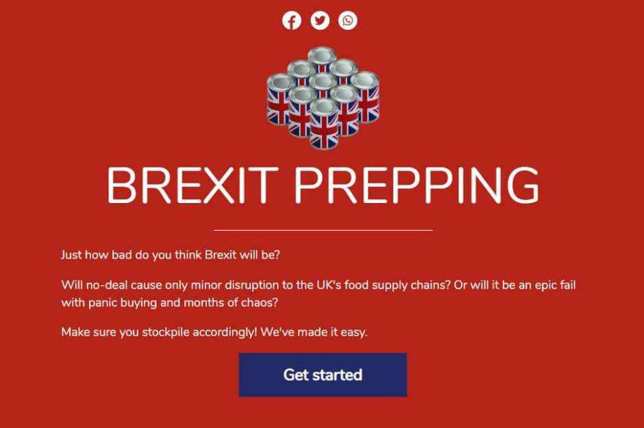 Brexit Prepping